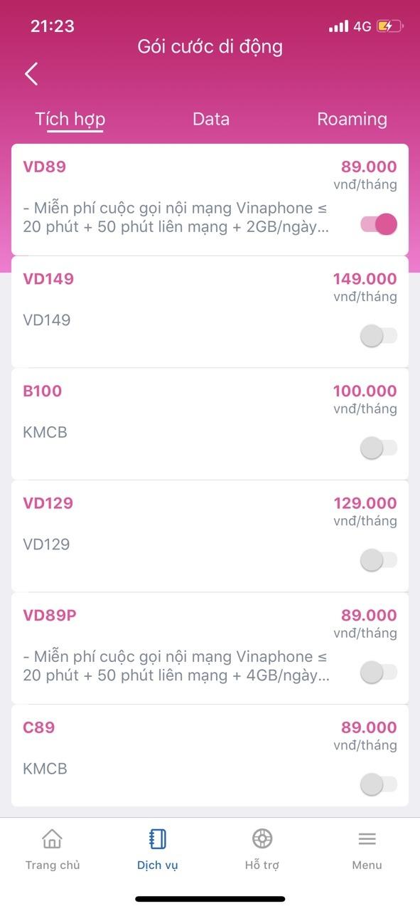 Cách cài đặt và sử dụng ứng dụng My VNPT Vinaphone