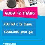 Sim 4G Vinaphone VD89 12T 12 tháng chỉ 390.000đ + gọi