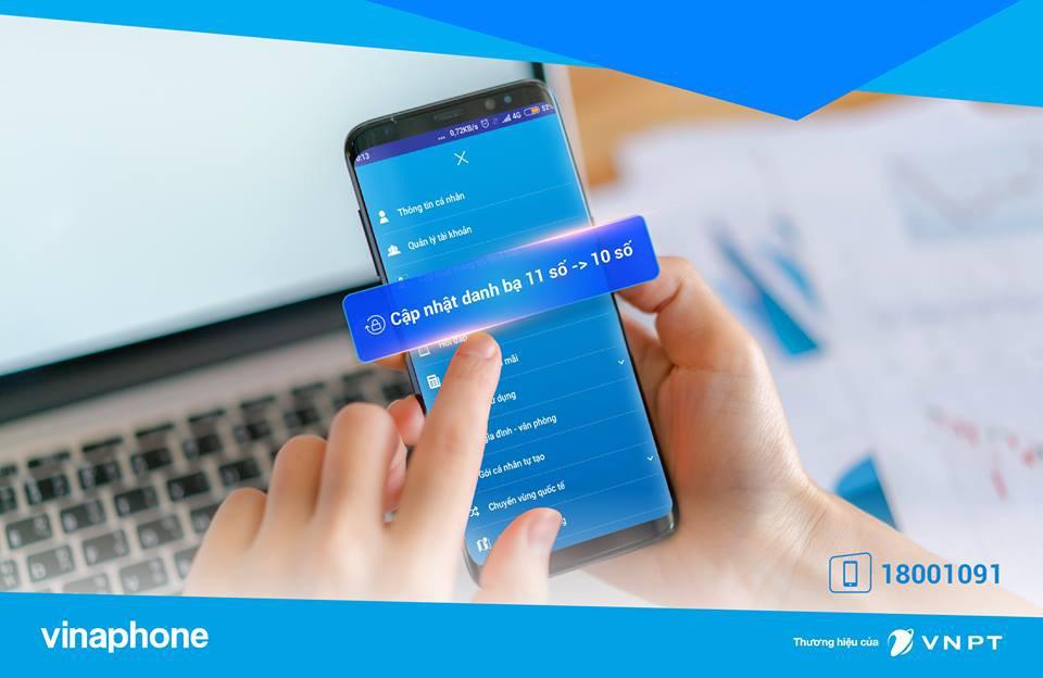 Khuyến mãi Vinaphone tặng 20% giá trị thẻ nạp ngày vàng 16/11/2018