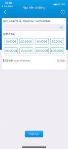 Vinaphone khuyến mãi tặng 30% giá trị thẻ nạp toàn quốc 6/11/2018