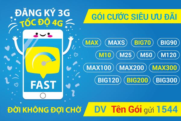 Hướng dẫn cách đăng ký 4G Vinaphone 1 tháng, 6 tháng, 12 tháng mới 2019