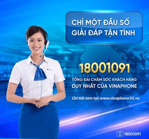 Số điện thoại tổng đài Vinaphone Hotline CSKH Vinaphone 18001091