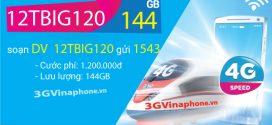 Gói cước 6TBIG120 12TBIG120 Vinaphone chu kỳ dài 6 tháng, 12 tháng