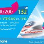 Đăng ký gói cước 6TBIG200 Vinaphone nhận 132GB data dùng 6 tháng