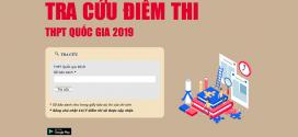 Đăng nhập thisinh.thithptquocgia.edu.vn tra cứu điểm thi THPT 2019