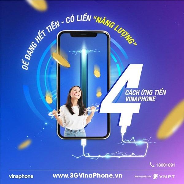 Hướng dẫn cách ứng tiền Vinaphone 5k 10k 20k 50k thành công 100%