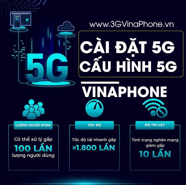 Hướng dẫn cài đặt cấu hình 5G Vinaphone cho di động