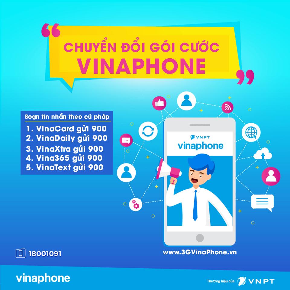 Cách chuyển đổi giữa các gói cước Vinaphone trả trước, trả sau đơn giản nhất
