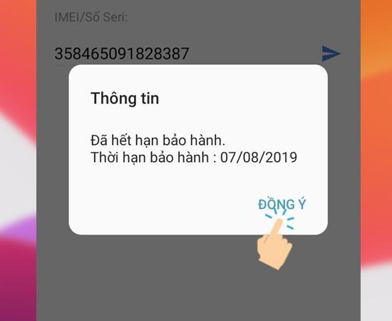 Check IMEI Samsung, cách kiểm tra thời hạn bảo hành điện thoại Samsung