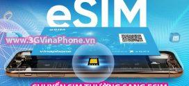 eSIM VinaPhone là gì? Cách chuyển đổi sim thường sang Esim VinaPhone đơn giản