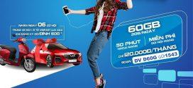 Đăng ký gói cước đỉnh 60G VinaPhone có 60GB data + miễn phí gọi thả ga