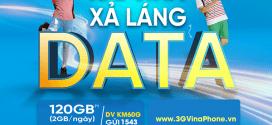 Đăng ký gói KM60G Vinaphone lướt web thả ga chỉ 50k có 60GB data
