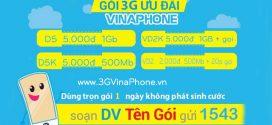 Danh sách các gói 4G Vinaphone 1 ngày có giá dưới 5.000đ