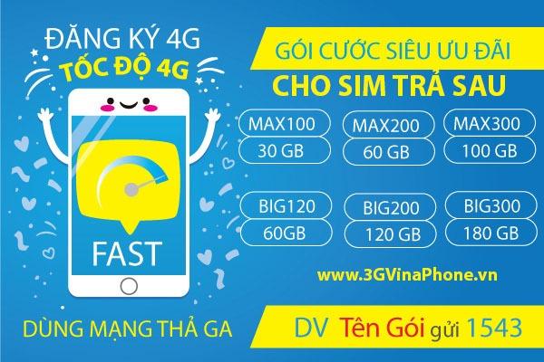 Đăng ký 4G Vinaphone trả sau nên sử dụng gói cước nào khuyên mãi 2021 - 3GVinaPhone.vn