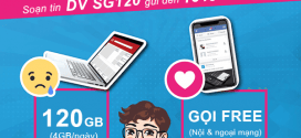 Gói cước SG120 Vinaphone ưu đãi 120GB (4GB/ngày) + gọi không giới hạn chỉ 120k