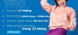 Đăng ký gói cước 12D60G Vinaphone – Gói D60G 12 tháng nhận 2GB/ngày suốt 1 năm