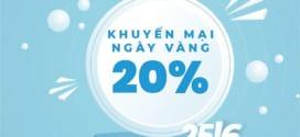 Khuyến mãi Vinaphone ngày vàng 25/6/2021 tặng 20% giá trị thẻ nạp