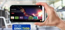 ĐĂng ký gói D99V Vinaphone có 30GB, Miễn phí Gọi  và xem MyTV chỉ 99k