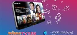 Đăng ký gói D129V VinaPhone ưu đãi 2GB/ngày + gọi miễn phí và MyTV