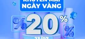 Khuyến mãi Vinaphone ngày vàng 23/7/2021 tặng 20% giá trị thẻ nạp