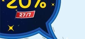 Khuyến mãi Vinaphone ngày 27/7/2021 tặng 20% giá trị thẻ nạp cục bộ