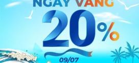 Khuyến mãi Vinaphone 9/7/2021 tặng 20% giá trị thẻ nạp ngày vàng
