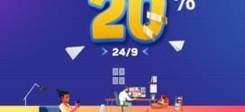 Khuyến mãi VinaPhone ngày vàng 24/9/2021 tặng 20% giá trị thẻ nạp